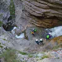 Canyon La Lance Canyoning Verdon
