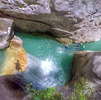 Canyoning Aiglun