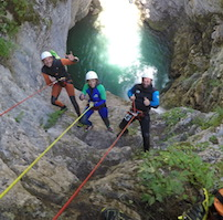 Canyoning Le Val d'Angouire